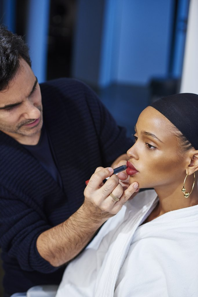 NARS Fall 2016 Audacious Collection Campaign BTS 1