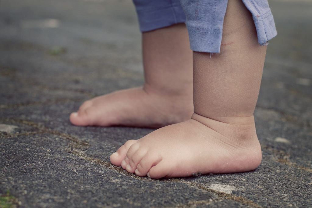 fot. materiały prasowe, gołębi chód u dzieci