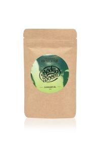 fot. Peeling kawowy Przebojowa Konopia Cannabis Oil, cena ok. 25.zł/100g www.bodyboom.pl