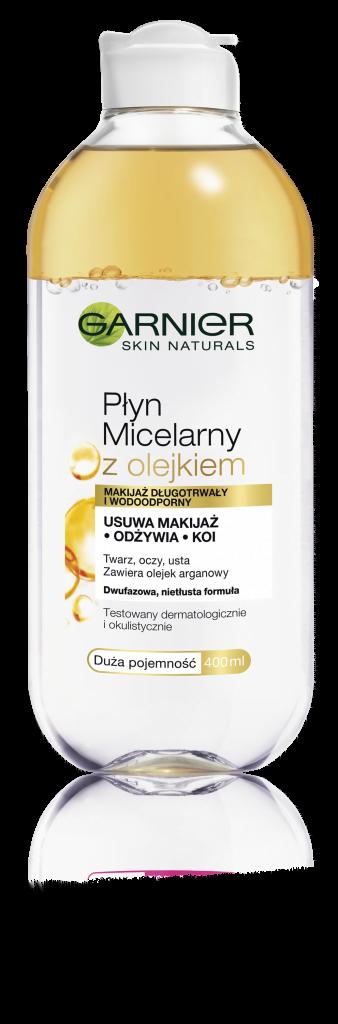 Garnier Skin Naturals Płyn micelarny z olejkiem arganowym, fot. materiały prasowe
